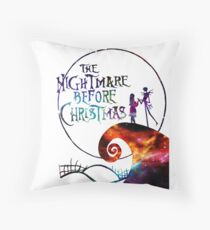 The Nightmare Before Christmas Throw Pillow