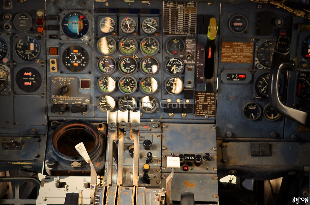 Cockpit by Byron Croft, Croft Photography by ByronCroft