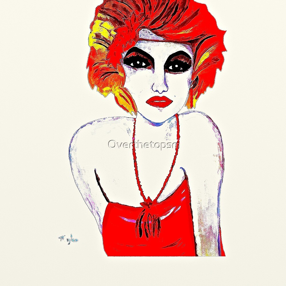 The Red Headed Flapper Girl by Saundra Myles