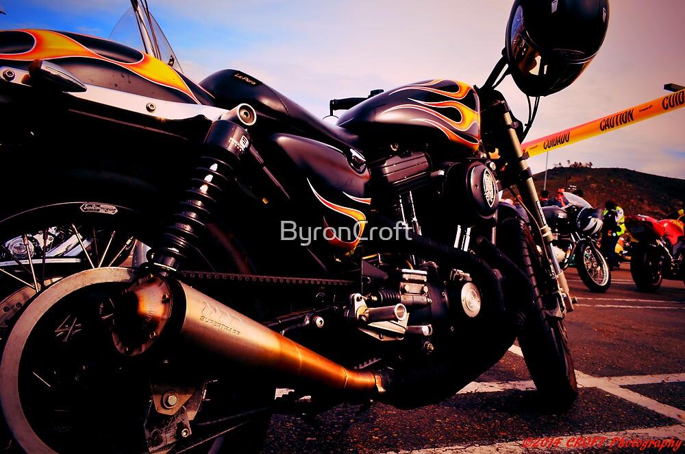 Fire-hot Bike by Byron Croft, Croft Photography by ByronCroft