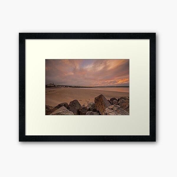 Thurso Sunset Framed Art Print