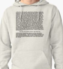 Ride Monologue Pullover Hoodie