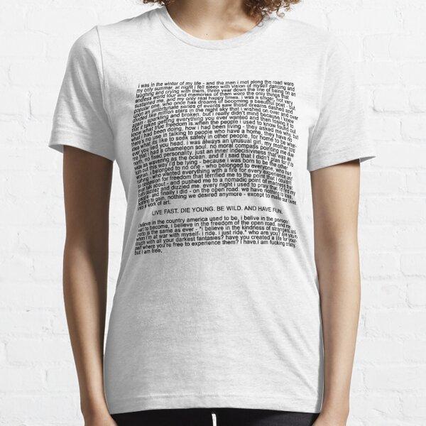 Ride Monologue T-shirt essentiel