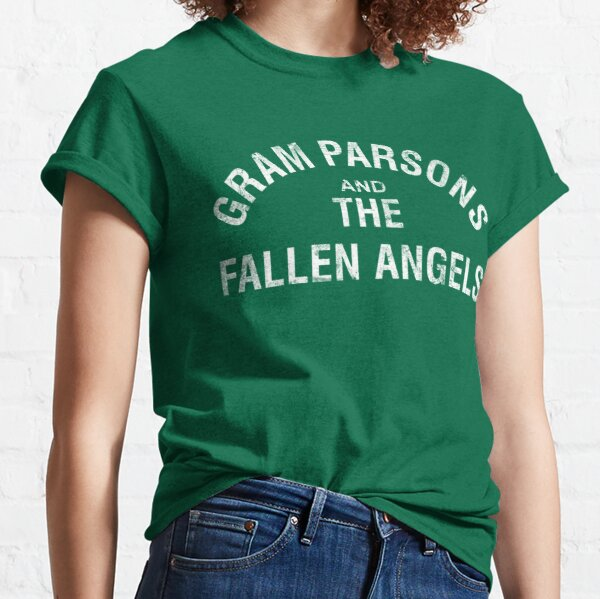 Gram Parsons and the Fallen Angels (white - distressed) Classic T-Shirt