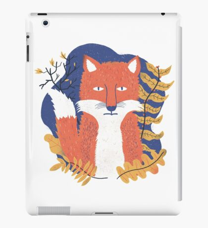 Bored fox iPad Case/Skin