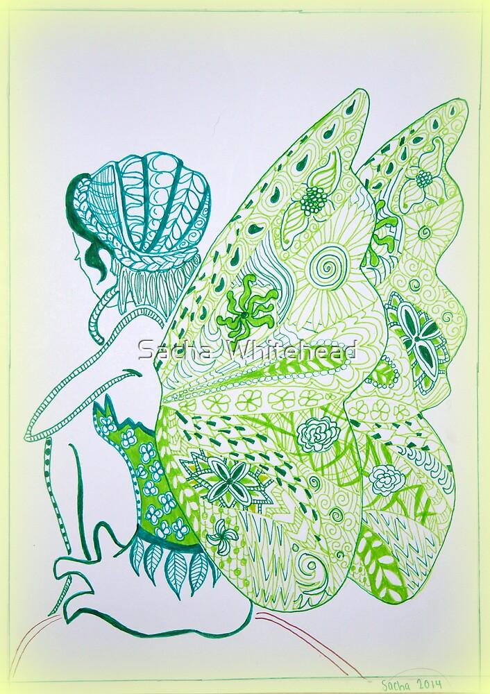 Fairy Green by Sacha  Whitehead