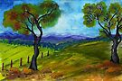 To paint a landscape  by Elizabeth Kendall