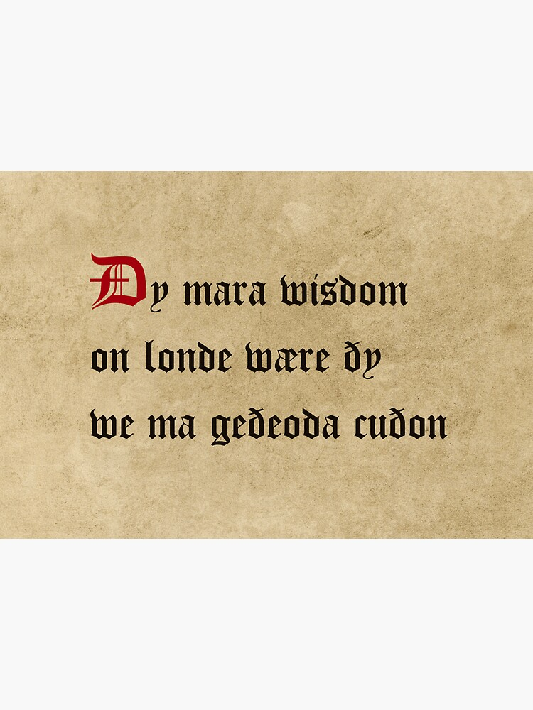 There would be more wisdom in the land, the more languages we knew by SignumStore