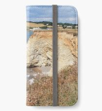 isle of wight,Freshwater bay iPhone Wallet/Case/Skin