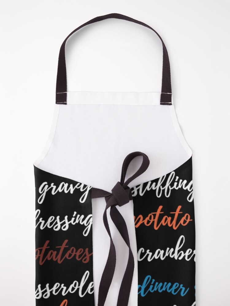 Alternate view of It's all about the sides! Apron