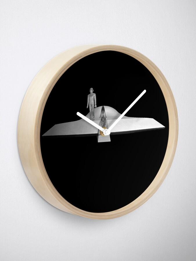 Alternate view of Gort and Klaatu Clock