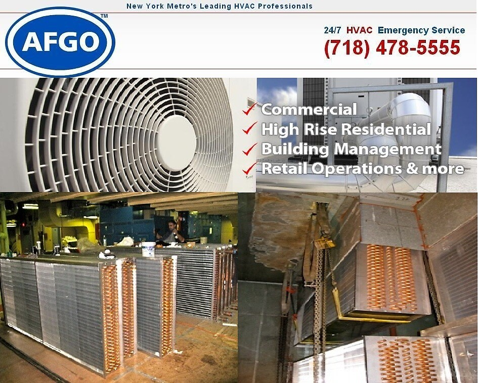 Commercial HVAC Contractor by afgocom