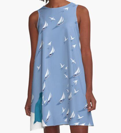 la régate A-Line Dress