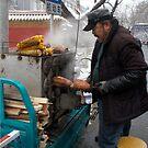 Street Vendor by KLiu