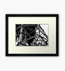 Deserted Crane  Framed Print