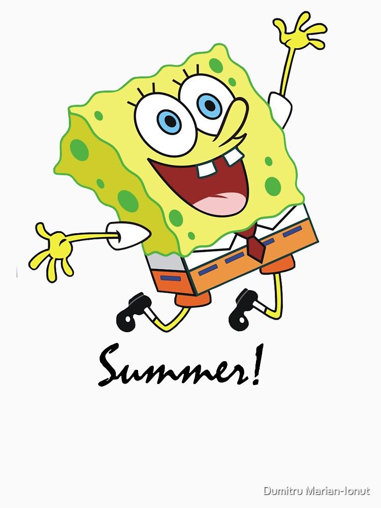 Sponge BoB Summer STYLE! by damony007