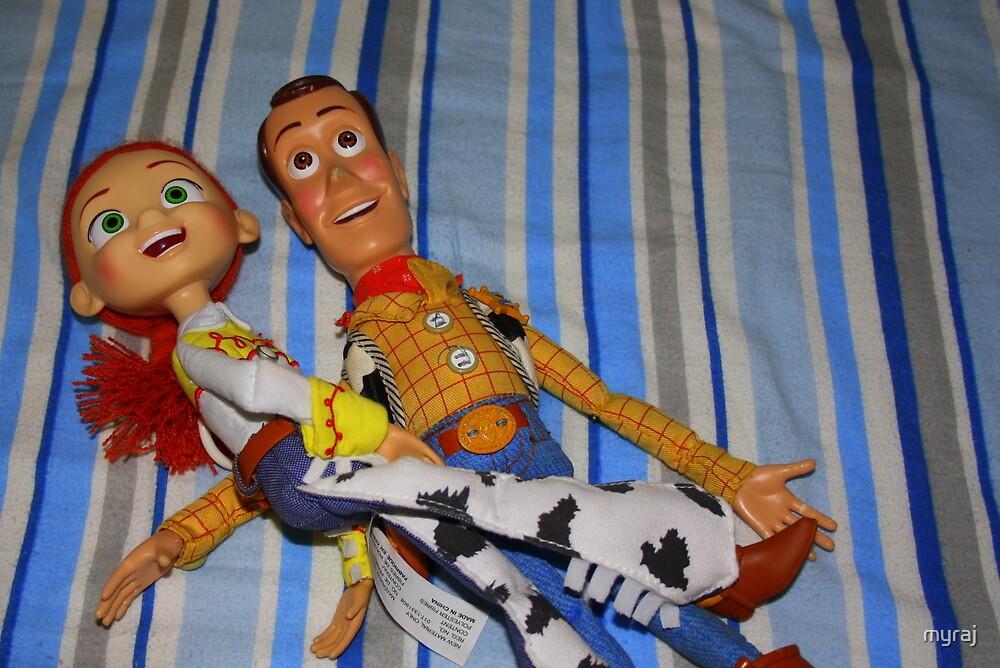 Jessie and Woody by myraj
