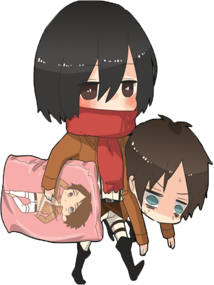 Mikasa and Erin by vickysmiles