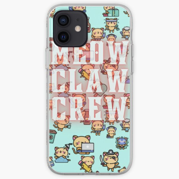Meow Claw Crew iPhone Soft Case