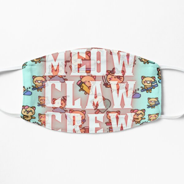 Meow Claw Crew Flat Mask