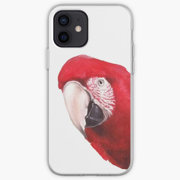Scarlet Macaw iPhone Soft Case