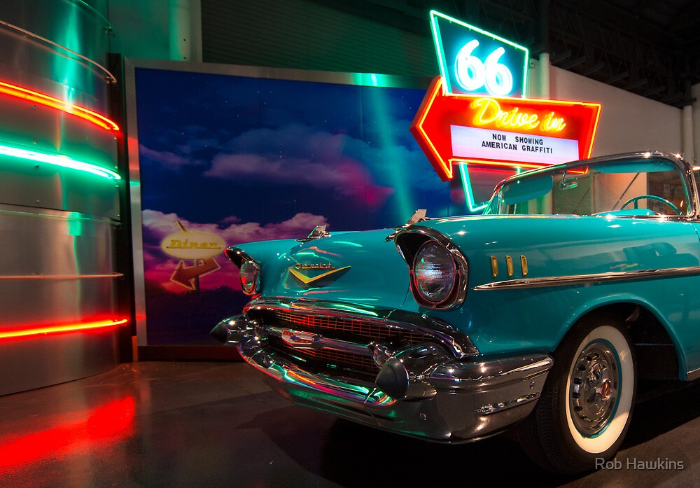 Chevy Drive In by Rob Hawkins