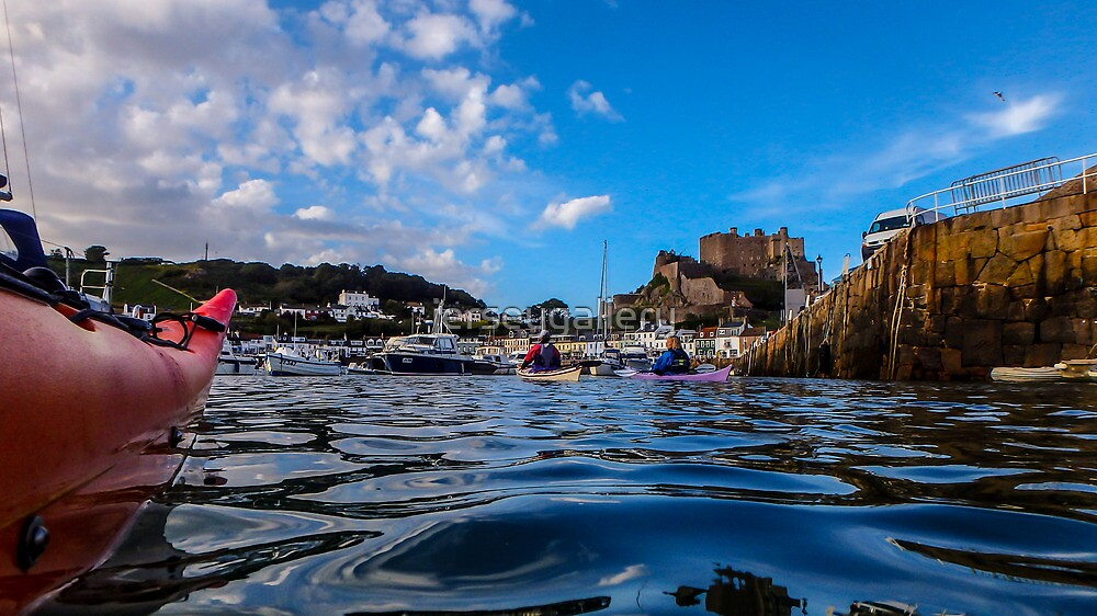 Paddle to Gorey by Gary Power by jerseygallery