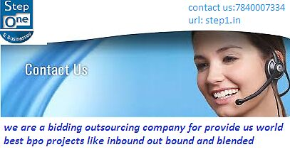 bpo Projects like inbound and back hand  by step1seo