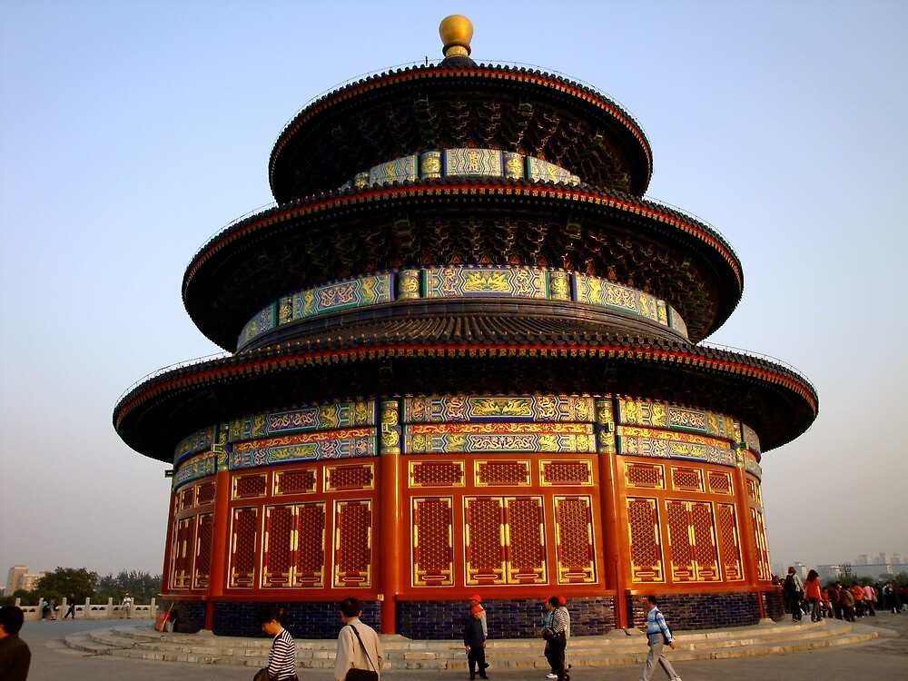 Temple of Heaven, Beijing by morvfraser