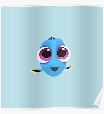 Póster Encontrar a Dory | Baby Dory