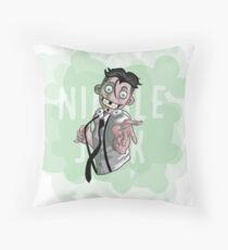 Chibi Nimble Jack Throw Pillow