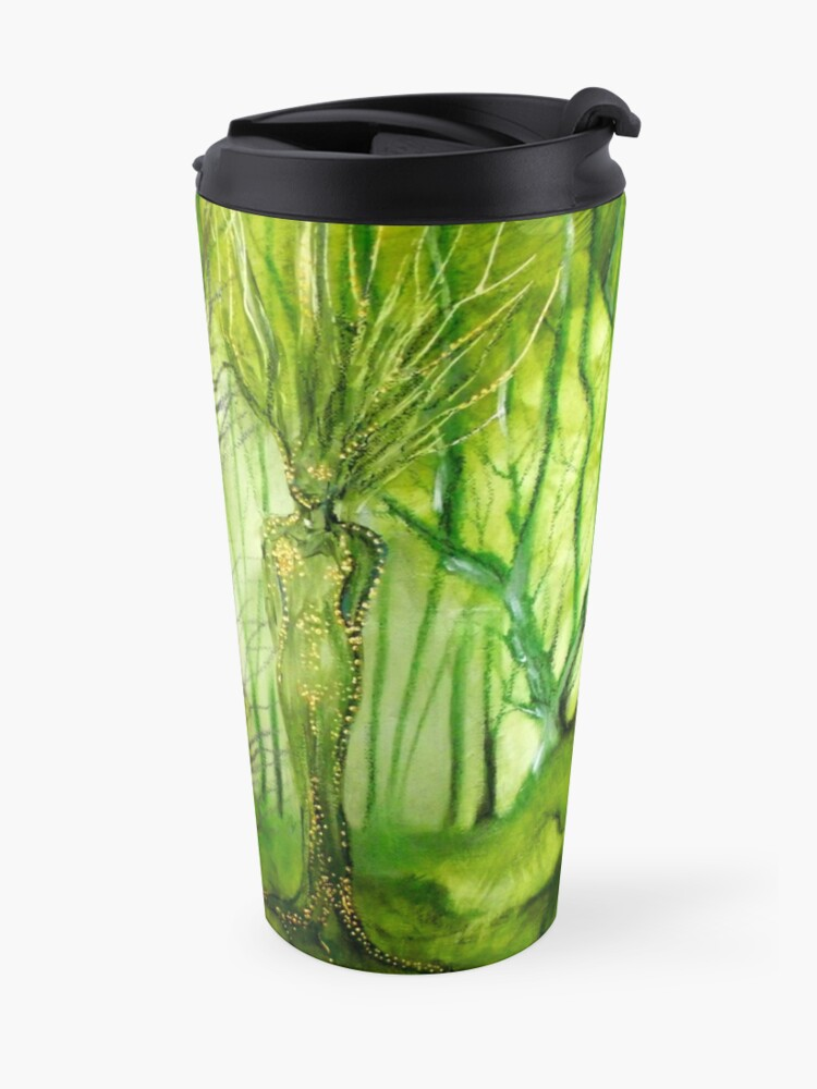 Alternate view of Lady of the Forest Travel Mug