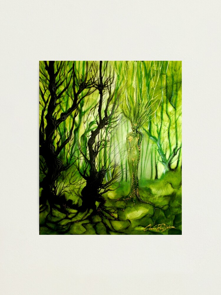 Alternate view of Lady of the Forest Photographic Print