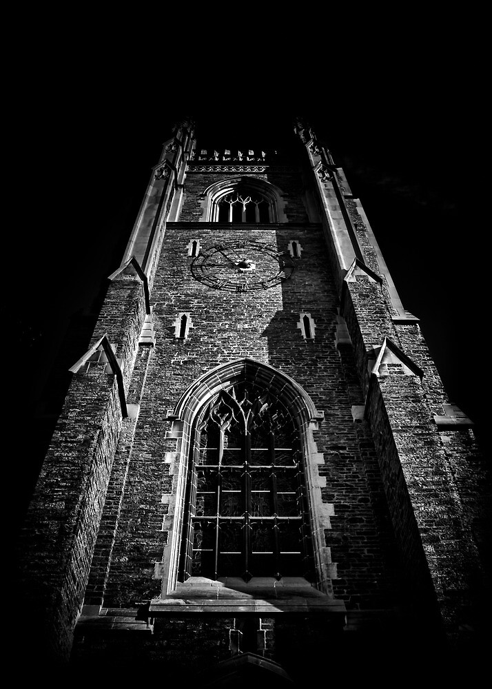 Clock Tower Soldiers Tower University Of Toronto Campus by Brian Carson