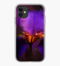 Risen from Stars. Cosmic Iris iPhone Case
