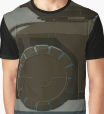 M577 Armored Personnel Carrier Tritych I/III Aliens APC Graphic T-Shirt