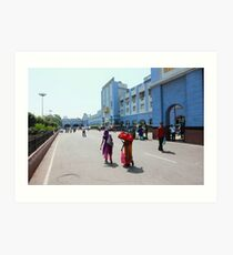 Secunderabad Railway Station Art Print