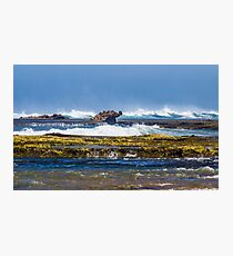 Dragon Head Rock,16th Beach, Rye, Mornington Peninsula. Photographic Print