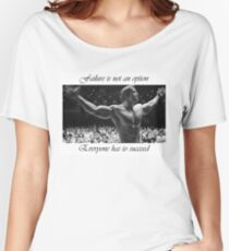 Arnold motivation Women's Relaxed Fit T-Shirt