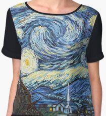 Van Gogh - Starry Night Chiffon Top