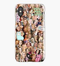 Gillian Anderson collage iPhone Case/Skin