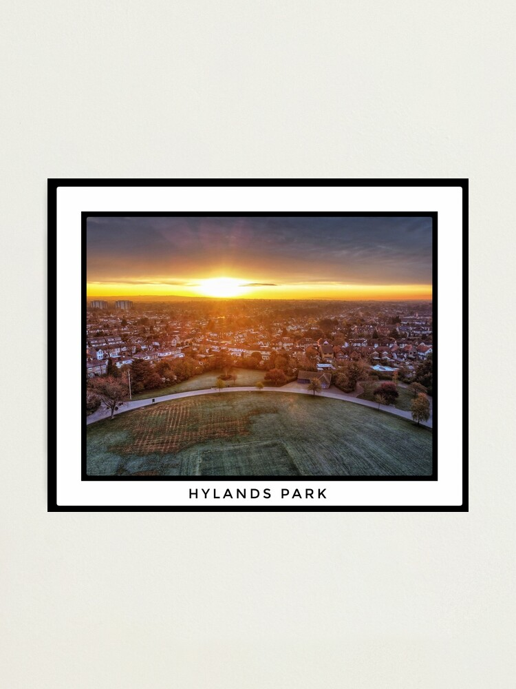 Alternate view of Hylands Park Sunrise Photographic Print