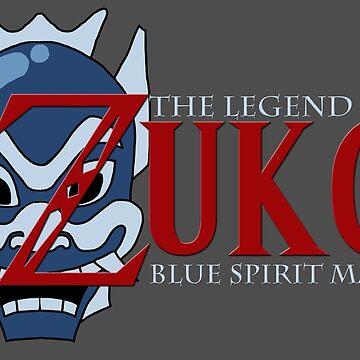 The Legend of Zuko - Blue Spirit Mask by KidsWithKrayons