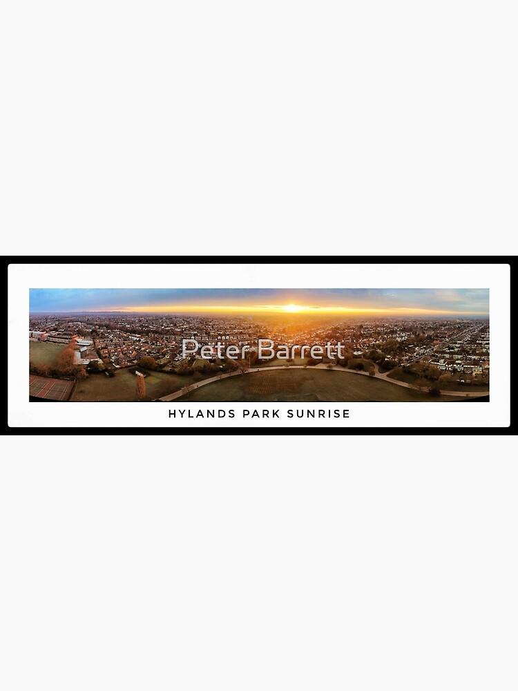 Hylands Park Sunrise Panorama by hartrockets
