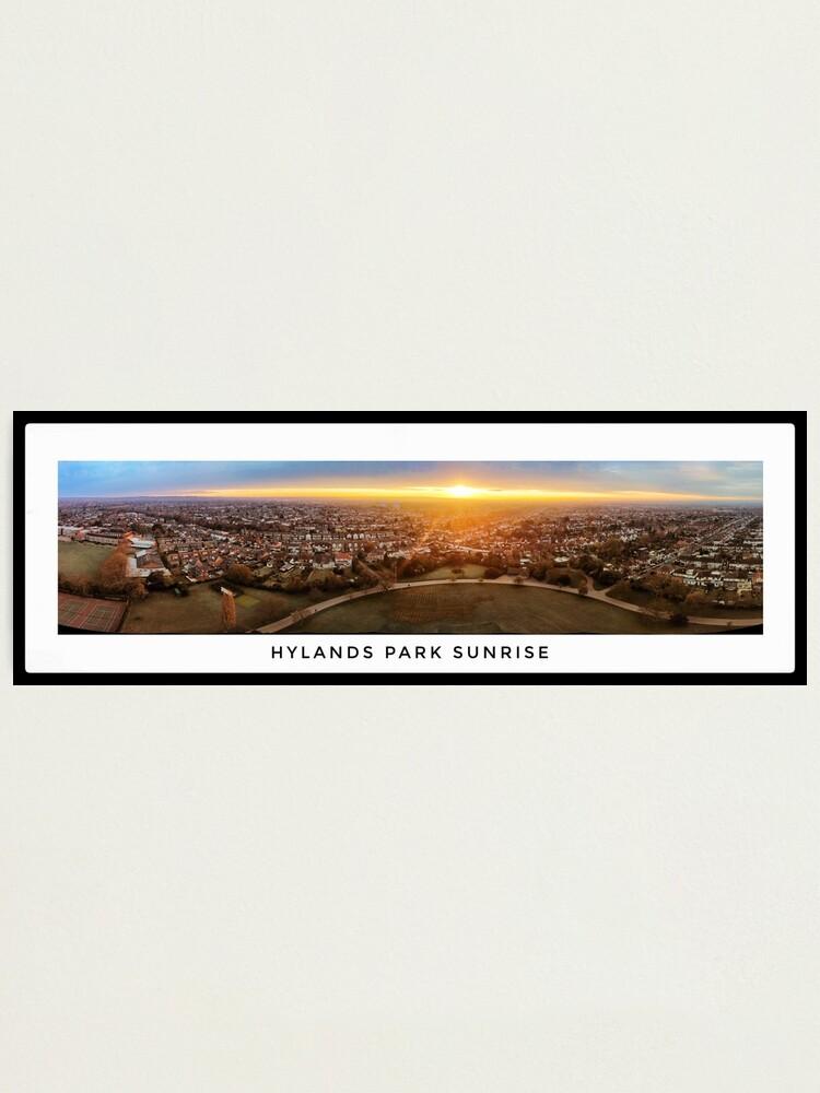 Alternate view of Hylands Park Sunrise Panorama Photographic Print
