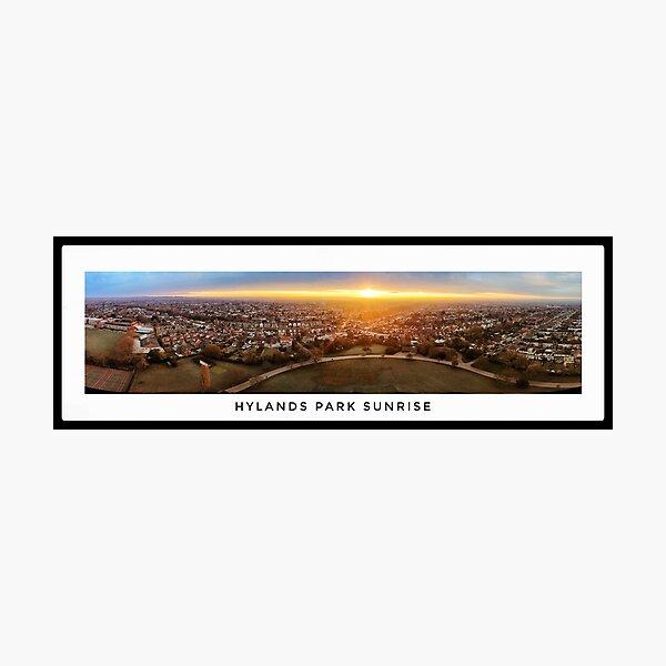 Hylands Park Sunrise Panorama Photographic Print
