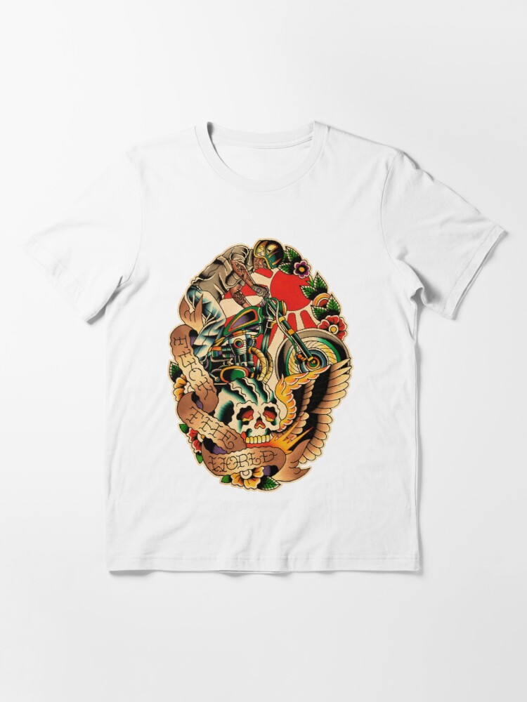 Fuck the world shirt