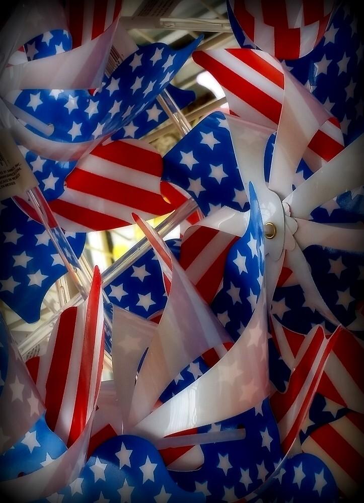Patriotic Pinwheels by deborahborn