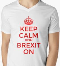Keep Calm and Brexit On T-Shirt