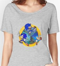 3 Shades of Sonic Women's Relaxed Fit T-Shirt